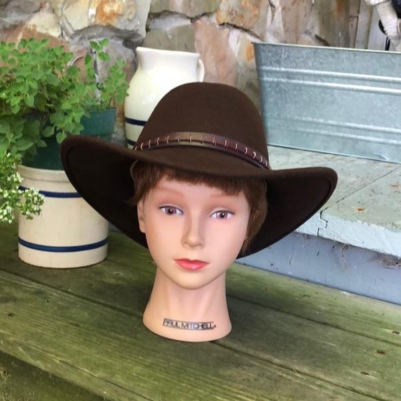 f87095c72 Women's felt Cowboy hat size small